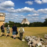 Faculty spent a morning exploring the monuments of Chichen Itza, one of the greatest Mayan centers of the Yucatn peninsula.