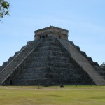 El Castillo, or The Castle. The monuments of Chichen Itza are masterpieces of Mayan architecture.