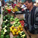 While touring Merida, such as the downtown market pictured here, faculty used the city as a lab to explore globalization, race, class, politics and religion.